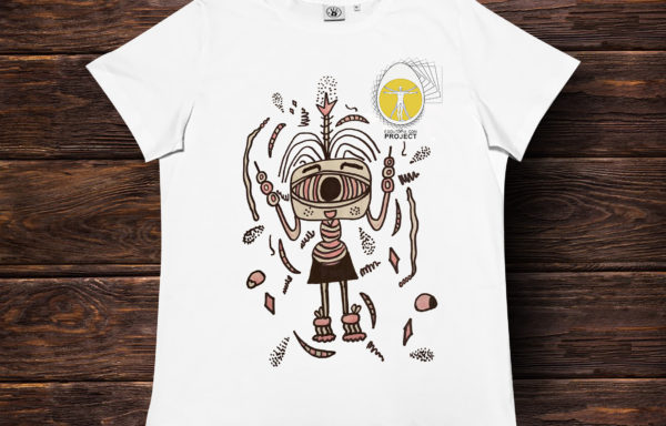 T-Shirt *EGGUTOPIA PROJECT ART 1*